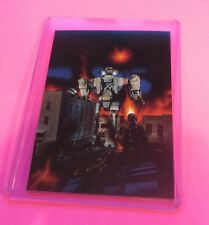 1994 LEE MACLEOD ART COLLECTIBLE TRADING CARD #23 THE ROBOTS TAKE OLD TOWN