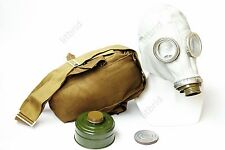 Russian military soviet Grey gas mask GP-5 with filter. New all sizes 0 1 2 3 4