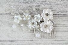 Small Wedding Hair Accessories Vintage Pearl Effect Bridal Vintage bridal Comb