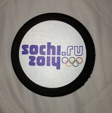 UNSIGNED 2014 SOCHI OLYMPIC PUCK TEAM SWEDEN USA CANADA RUSSIA FINLAND