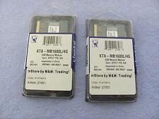 Posten mit 2 Stk. KTA-MB1600L/4G / Arbeitsspeicher / Memory Module