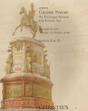 RUSSIAN: GALERIE POPOFF sessions II & III AUCTION CATALOGUE