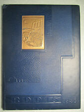1946 RODIS Yearbook - Lincoln High School - Midland Beaver Co. PA - NO writing