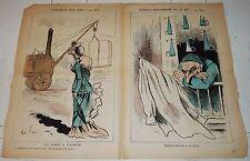 1878 LA LUNE ROUSSE GILL EXPO POUR RIRE - 16 MAI CARICATURE JOURNAL SATIRIQUE