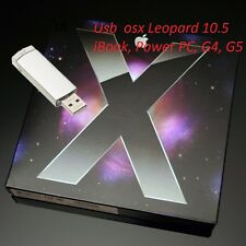 OS X Leopard 10.5. USB 16 gb chiavetta       iBook, Power PC, G4, G5