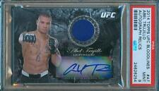 2014 Topps UFC Bloodlines ABEL TRUJILLO Event Used Used Relic/Auto #/188 PSA 9