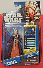 NEW Hasbro Star Wars The Clone Wars CW31 SHAAK TI Jedi Master Carded Figure