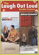 50 First Dates/Big Daddy (DVD 2-Disc Set) 2 movies NEW a.sandler drew barrymore