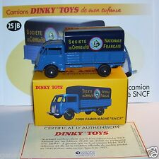 REEDITION DINKY TOYS ATLAS FORD CAMION BACHE SNCF REF 25JB 1/58 IN BOX