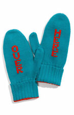 NEW  AUTHENTIC Kate Spade New York™  Over Here Mittens Big Apple Teal/Red Gloves