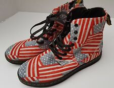 NEW DOC DR MARTENS BOOT GIRLS BOYS STARS USA FLAG MARLEY AIR BOUNCING 2 1 13 FRE