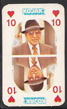Monty Gum 1975 Kojak Card (Red Back) - Ten of Hearts Playing Card