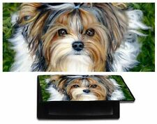 BIEWER YORKIE CHECKBOOK cover YORKSHIRE TERRIER wallet dog art painting TIKI