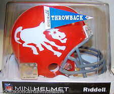 Denver Broncos 1962-1965 Throwback NFL Mini Helmet Replica