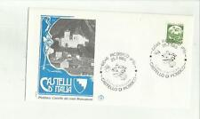 136397 RARA BUSTA FILATELICA PIOBBICO CASTELLO DEI CONTI BRANCALEONI