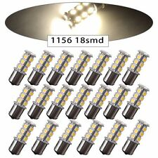 20 pcs 1156 7506 1003 1141 LED Light 18 SMD Bulbs Interior RV Camper Pure White