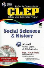 CLEP Social Sciences and History [With CDROM] (Best Test Preperation & Review Co
