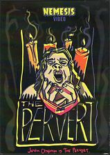 The Pervert DVD Nemesis Video Justin Chapman Cult Horror Low Budget SOV