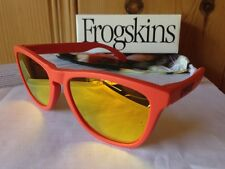 NEW Oakley Limited Edition Frogskins - Mesa Orange / Fire Iridium, 24-344