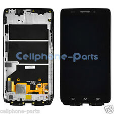 Motorola Droid Ultra XT1080 XT1080m LCD Screen with Digitizer & Frame, Black USA