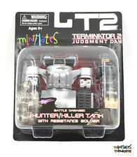 Terminator 2 T2 Minimates Battle Damaged Hunter/Killer Tank & Resistance Soldier