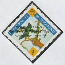 Ireland - Thomond (907) 1967 Gypsy Moth opt DOUBLED, one INVERTED on 9d u/m