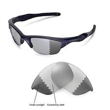 New Walleva Polarized Transition/Photochromic Lenses For Oakley Half Jacket 2.0