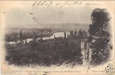 76 - cpa - ELBEUF - Vue sur la vallée de la Seine et Cléon (H9367)