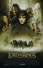 Lord Of The Rings movie poster : Fellowship Of The Ring  : 11 x 17 inches