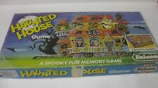 Rare Vintage Haunted House Board Game Complete Memory Game #7495 By Falcon gm231