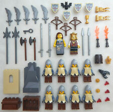 10 NEW LEGO CASTLE KNIGHT MINIFIG LOT Kingdoms figures minifigures people