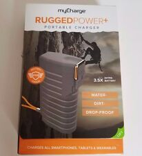 myCharge Rugged PowerPLUS Portable Charger 5200mAh, 2 USBs Water-Dirt-Drop Proof