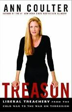 Treason by Ann Coulter 2003 Hardcover