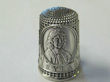 MARYLAND - COLONIAL AMERICA FRANKLIN MINT STERLING SILVER THIMBLE - MINT