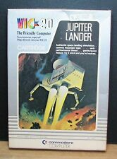 JUPITER LANDER - VIC 20 - COMMODORE - NUOVO NEW OLD STOCK - 1981 Vintage