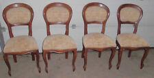 4er set polster stühle alt antik / 4x stuhl,polsterstuhl jugendstil top deko unr