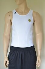 NEW Adidas NBA Team Issued TechFit Base Layer Compression Shirt Tank White XLT