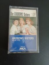 THE ANDREWS SISTERS Near You NEW Music Cassette 1982 Sealed VINTAGE Free Ship