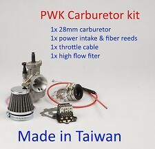 Performance PWK  28mm Carburetor kit  for Polaris 2T Predator 90cc 2001  ~2006