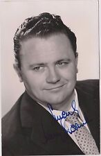 """HARRY SECOMBE- """"Goon Show"""" `Oliver` Gt Singer & Comic ink Signed album page & PC"""