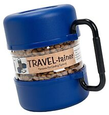 Pet Travel Tainer Bowl Blue - Dog Food Water And Food Bowls NEW
