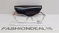 New Montblanc Authentic MB 438 Silver Purple MB438 072 52-18-135 RX Eyeglasses