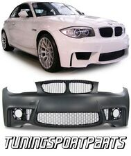FRONT BUMPER FOR BMW E81 E82 E87 E88 04-11 SERIES 1 M-SPORT SPOILER BODY KIT