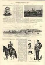 1893 la insurrección de Brasil José de Mello