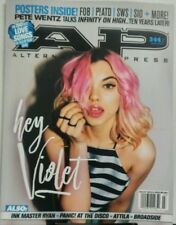 AP Alternative Press March 2017 Hey Violet Panic At The Disco FREE SHIPPING sb