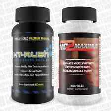 Ht Rush (60 capsules) and No2 Maximus(90 capsules) NEW AND SEALED