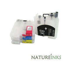 4 refillable ink cartridge for to replace Brother LC985BK LC985C LC985M LC985Y