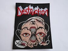 DESTRUCTION RELEASE FROM AGONY THRASH METAL EMBROIDERED PATCH