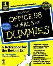 Microsoft Office 98 for Macs for Dummies Negrino, Tom Paperback