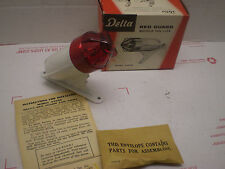 1940-50's DELTA RED-GUARD BICYCLE TAIL LIGHT IN BOX NOS WHIZZER CAST MEDAL